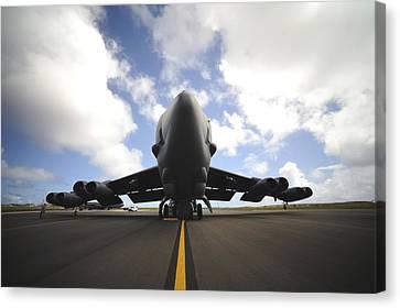 Cope Canvas Print - A U.s. Air Force Maintenance Crew by Stocktrek Images