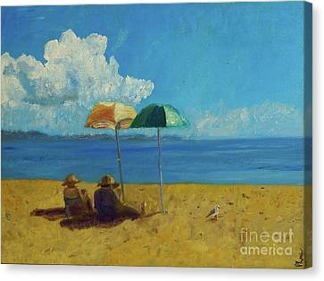 A Vacant Lot - Byron Bay Canvas Print