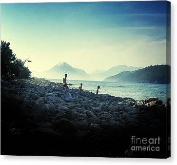 A Vacation With Dad Canvas Print