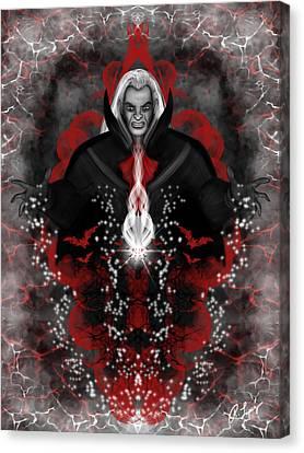 A Vampire Quest Fantasy Art Canvas Print