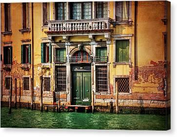 Rust Canvas Print - A Venetian Door  by Carol Japp