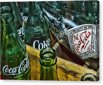 A Very Old Cola  Canvas Print