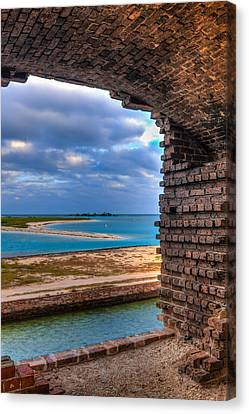 A View From Fort Jefferson - 2 Canvas Print by Andres Leon