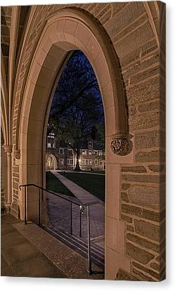 A View From Holder Hall Princeton University Canvas Print by Susan Candelario