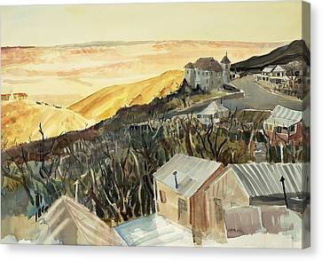 A View From Jerome Canvas Print