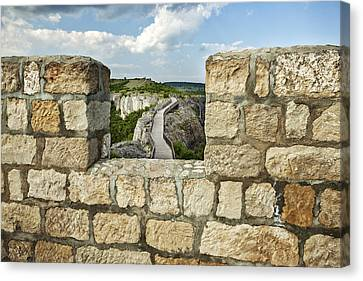 A View From The Past Canvas Print