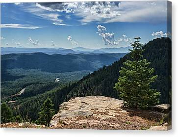 Canvas Print - A View From The Rim  by Saija Lehtonen