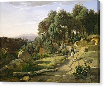 A View Near Volterra Canvas Print by Mountain Dreams
