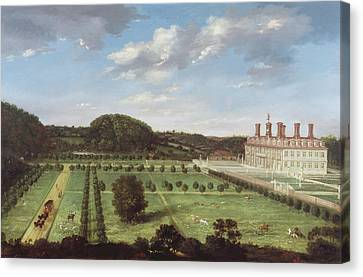 A View Of Bayhall - Pembury Canvas Print by Jan Siberechts
