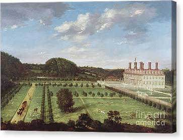 A View Of Bayhall - Pembury Canvas Print