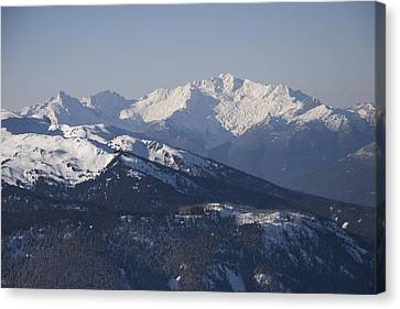 Solar Phenomena Canvas Print - A View Of The Mountains by Taylor S. Kennedy