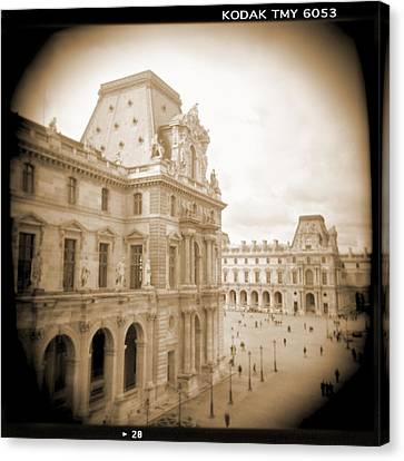 A Walk Through Paris 20 Canvas Print by Mike McGlothlen