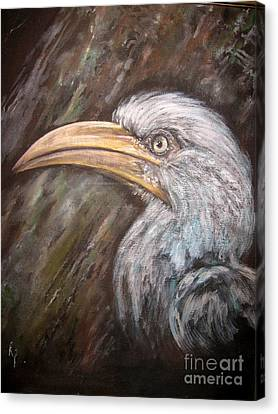 A Watchful Eye Canvas Print by Rita Palm