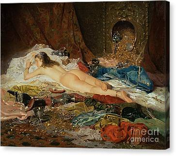 A Wealth Of Treasure Canvas Print by Della Rocca