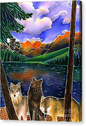 A Wild Place Canvas Print by Harriet Peck Taylor