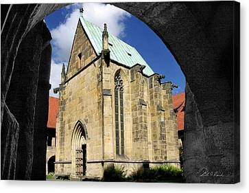 A Window Through Time Canvas Print by Frederic A Reinecke