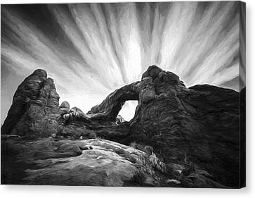 A Window To The Sky II Canvas Print by Jon Glaser