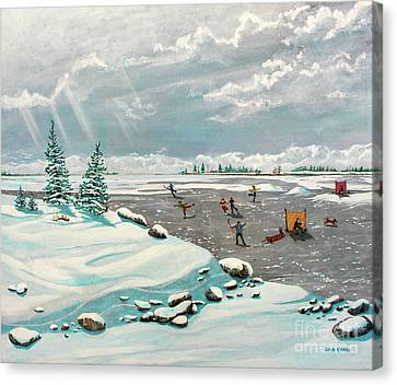 A Winter Afternoon Canvas Print by Dan O'Neill