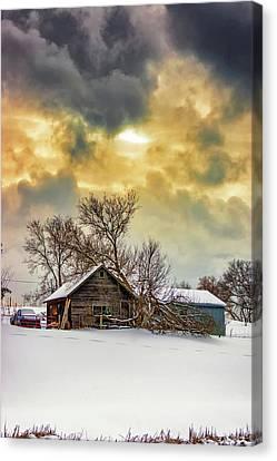 A Winter Eve 2 Canvas Print
