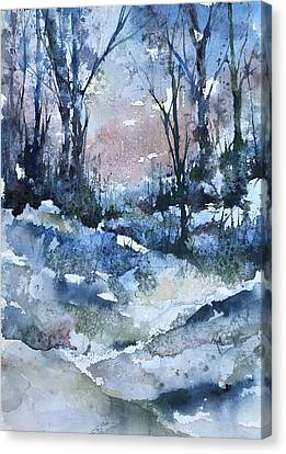 A Winter's Eve Canvas Print