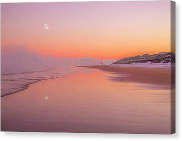 A Winters Morning Canvas Print by Roy McPeak