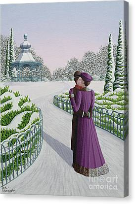 A Winter's Romance Canvas Print