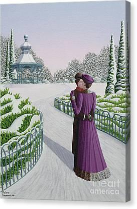 A Winter's Romance Canvas Print by Peter Szumowski