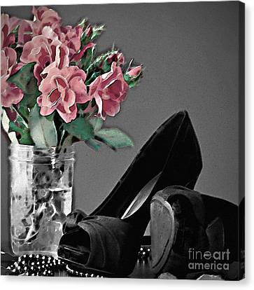 A Wonderful  Evening Out Canvas Print by Sherry Hallemeier