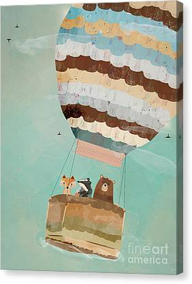 A Wondrous Little Adventure Canvas Print
