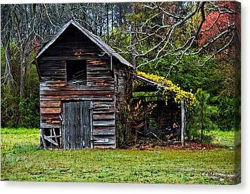 A Yellow Cover Canvas Print by Christopher Holmes