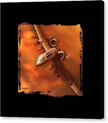 A10 Warthog Canvas Print