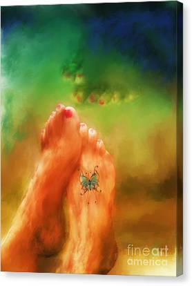 Aah Summer Canvas Print by Marilyn Sholin