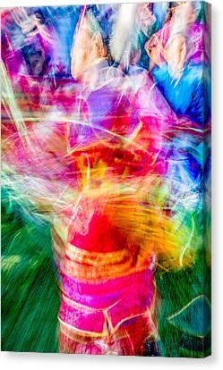 Aaniiih Dance Canvas Print by Todd Klassy