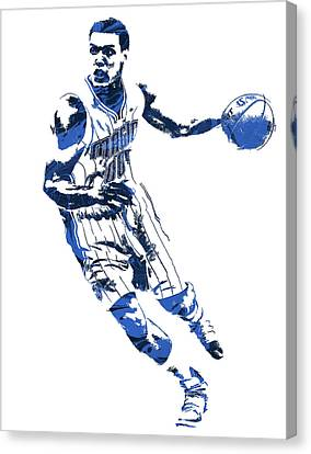 Aaron Gordon Orlando Magic Pixel Art 1 Canvas Print