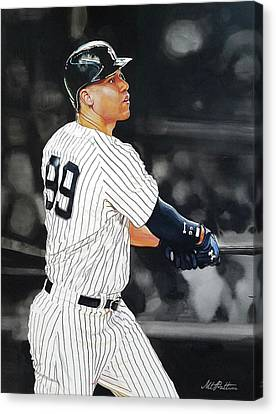Aaron Judge All Rise Canvas Print