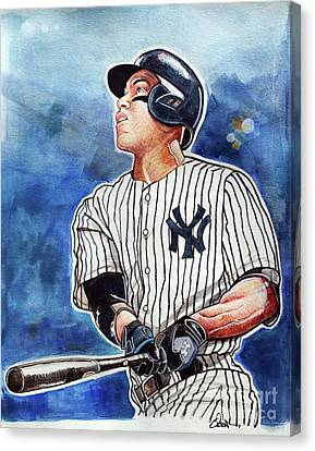 Aaron Judge Canvas Print