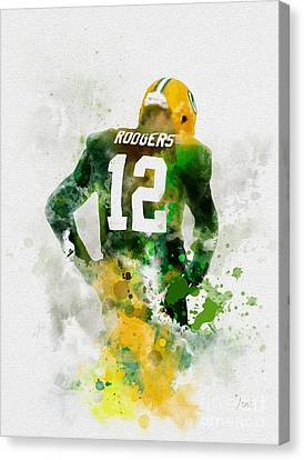 Aaron Rodgers Canvas Print