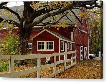 Aaron Smith Farm Autumn 4 Canvas Print