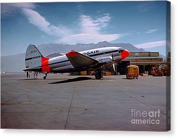 Aaxico Ch-28 Logair Curtiss C-46 Commando N67977,  Canvas Print by Wernher Krutein