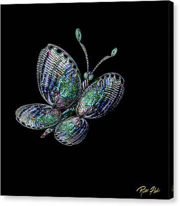Abalonefly Canvas Print by Rikk Flohr