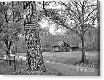 Abandoned America Canvas Print