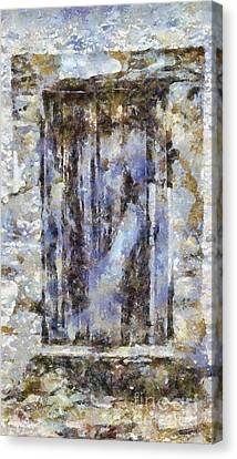 Abandoned Beauty Canvas Print by Shirley Stalter