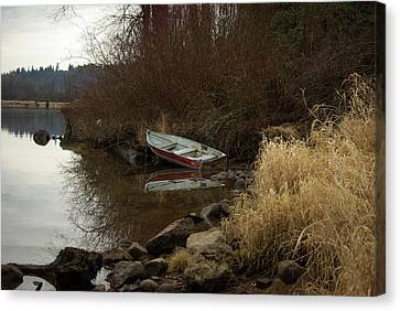 Abandoned Boat II Canvas Print