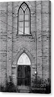 Abandoned Church Canvas Print by Kristi Beers-Mason