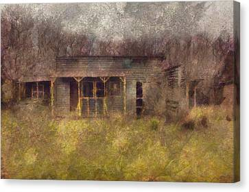 Abandoned Country Home Canvas Print by Mario Carini