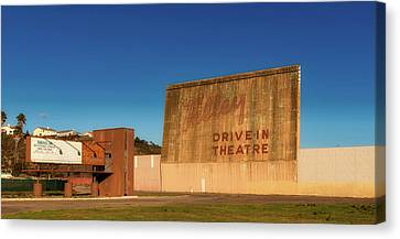Abandoned Drive - In Canvas Print