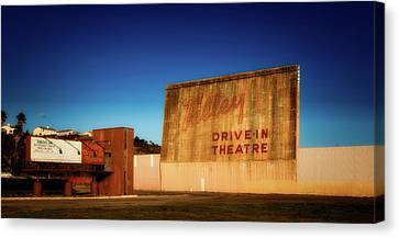 Abandoned Drive - In Theatre Canvas Print