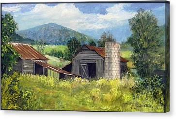 Abandoned Farm   Sold Canvas Print
