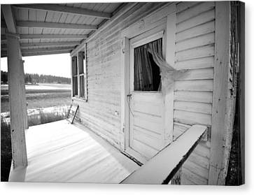 Abandoned Home Canvas Print