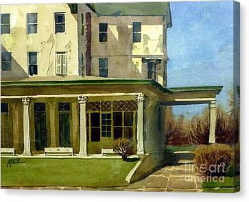 Abandoned Hotel Canvas Print by Donald Maier